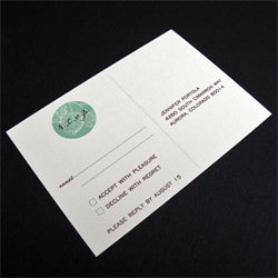 Stationery, green, brown, Invitations, Oliostyle, Rsvp
