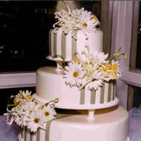 Flowers & Decor, Cakes, green, cake, Flowers, Lastarr cakes co, Daisy