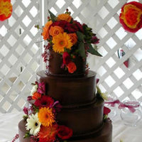 Cakes, orange, red, brown, cake, Lastarr cakes co