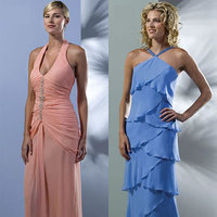 Bridesmaids, Bridesmaids Dresses, Fashion, pink, blue, Marys bridal boutique