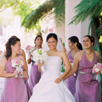 Bridesmaids, Bridesmaids Dresses, Photography, Fashion, purple, Christine marie photography