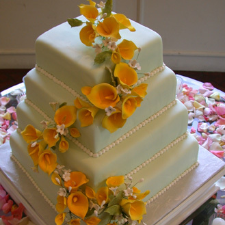 Flowers & Decor, Cakes, yellow, cake, Flowers, Nicole ha