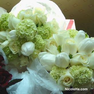 Flowers & Decor, white, green, Flowers, Nicole ha