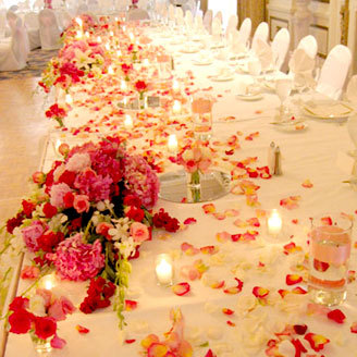 Reception, Flowers & Decor, pink, Flowers, Nicole ha