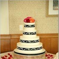 Cakes, orange, black, cake
