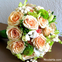 Flowers & Decor, orange, Bride Bouquets, Flowers, Bouquet, Nicole ha