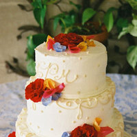Cakes, red, blue, cake, Contemporary catering and event planning services, Contemporary catering