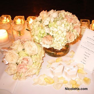 Flowers & Decor, white, Centerpieces, Flowers, Centerpiece, Nicole ha