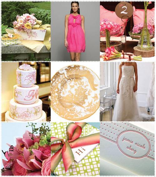 pink, Style me pretty