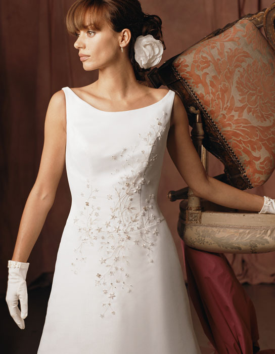Wedding Dresses, Fashion, dress, Casablanca bridal, Boatneck