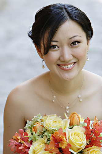 Beauty, Flowers & Decor, yellow, orange, red, Makeup, Bride Bouquets, Bride, Flowers, Bouquet