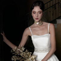 Wedding Dresses, A-line Wedding Dresses, Fashion, dress, Casablanca bridal, A-line, Spaghetti straps, Spahetti Strap Wedding Dresses