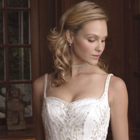 Wedding Dresses, Sweetheart Wedding Dresses, Fashion, dress, Sweetheart, Casablanca bridal, Spaghetti straps, Beading, Beaded Wedding Dresses, Spahetti Strap Wedding Dresses