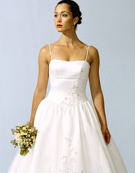 Wedding Dresses, Fashion, dress, Casablanca bridal, Straps, Princess, Spaghetti