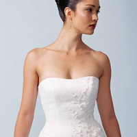 Wedding Dresses, A-line Wedding Dresses, Fashion, dress, Strapless, Casablanca bridal, Strapless Wedding Dresses, A-line