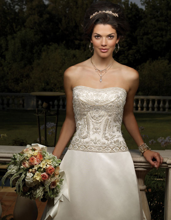 dress, Strapless, Casablanca bridal, Beading, Fashion, Wedding Dresses, Strapless Wedding Dresses, Beaded Wedding Dresses