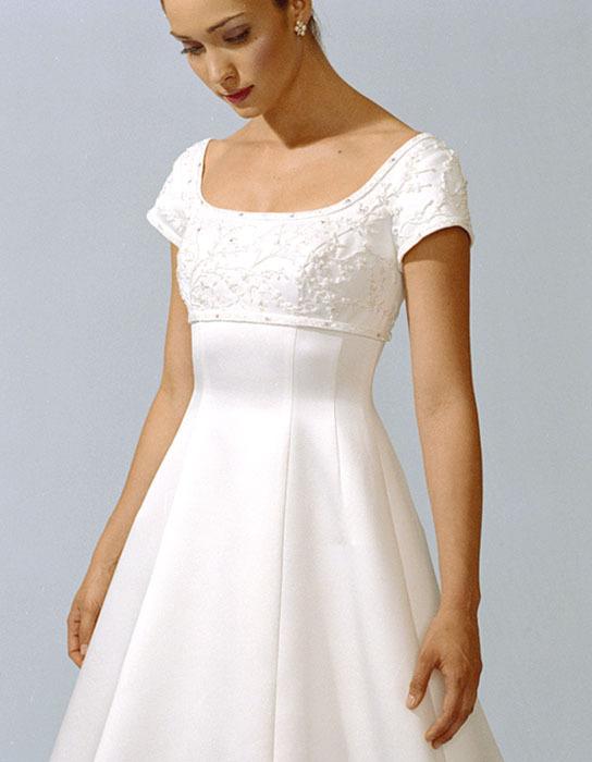 Wedding Dresses, Fashion, dress, Casablanca bridal, Sleeves, Empire