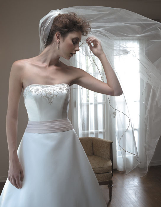 Wedding Dresses, Fashion, dress, Strapless, Casablanca bridal, Strapless Wedding Dresses, Sash