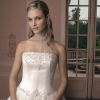 Wedding Dresses, Fashion, dress, Strapless, Casablanca bridal, Strapless Wedding Dresses, Beading, Princess, Beaded Wedding Dresses