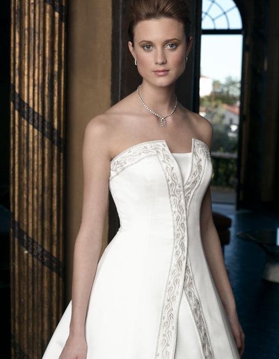 Wedding Dresses, Fashion, dress, Strapless, Casablanca bridal, Strapless Wedding Dresses