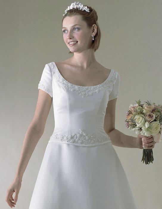 Wedding Dresses, A-line Wedding Dresses, Fashion, dress, Casablanca bridal, A-line, Sleeves