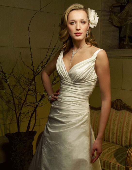 Wedding Dresses, Fashion, dress, Casablanca bridal, V-neck, V-neck Wedding Dresses