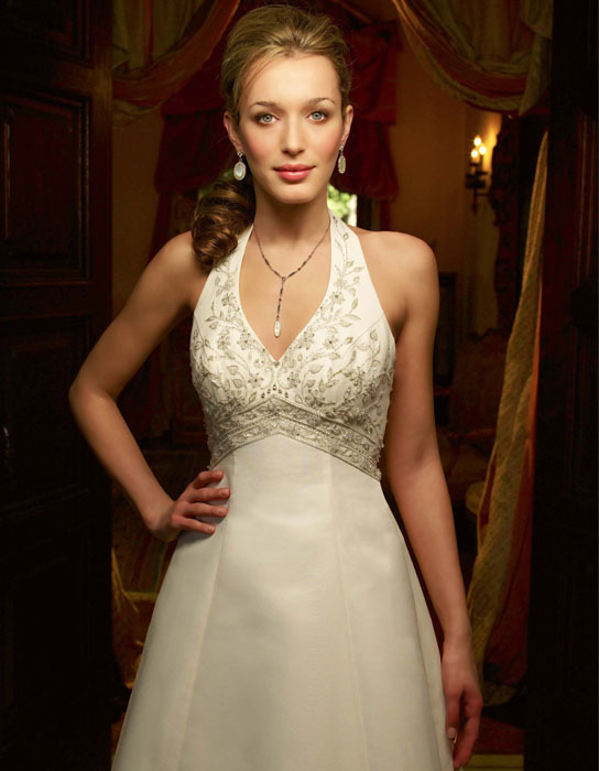 Wedding Dresses, Fashion, dress, Casablanca bridal, Halter, halter wedding dresses