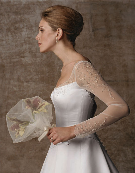 Wedding Dresses, Fashion, dress, Casablanca bridal, Sleeves