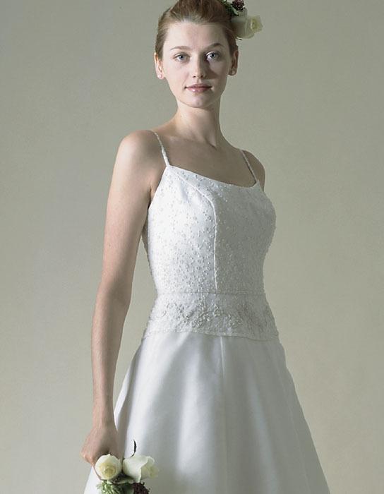 Wedding Dresses, A-line Wedding Dresses, Fashion, dress, Casablanca bridal, A-line, Spaghetti straps, Spahetti Strap Wedding Dresses