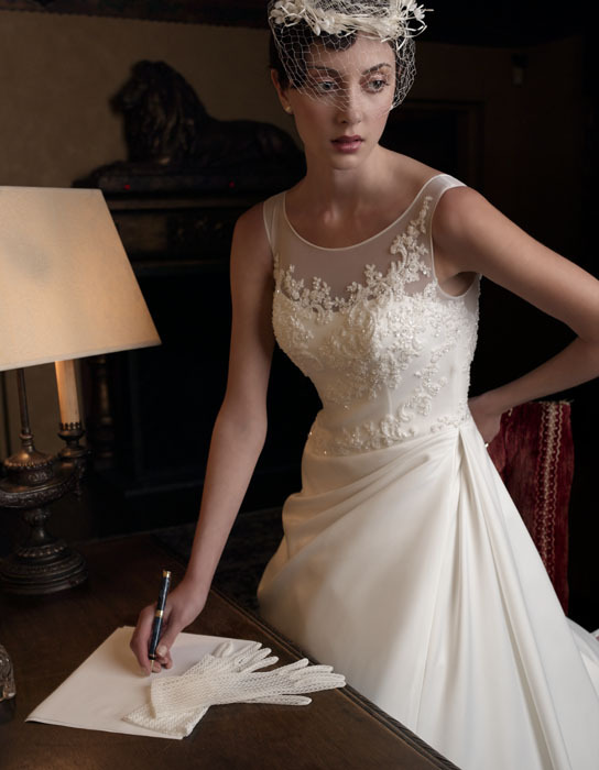 Wedding Dresses, Fashion, dress, Casablanca bridal, Sleeves, Asymmetrical