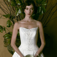 Wedding Dresses, A-line Wedding Dresses, Fashion, dress, Casablanca bridal, A-line, Straps, Spaghetti