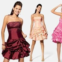 Bridesmaids, Bridesmaids Dresses, Fashion, pink, red, Chrissy o fashion and bridal boutique