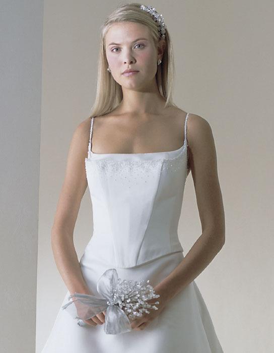 Wedding Dresses, A-line Wedding Dresses, Fashion, dress, Casablanca bridal, A-line, Straps, Spaghetti