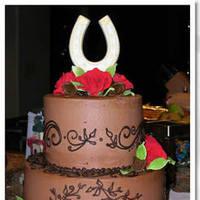 Cakes, red, brown, cake, Cinderella cakes