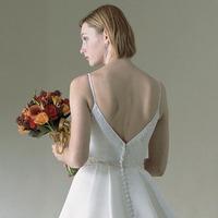 Wedding Dresses, Fashion, dress, Casablanca bridal, Spaghetti straps, Back, Spahetti Strap Wedding Dresses