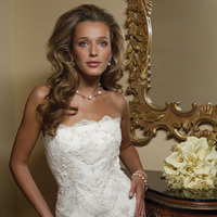 Wedding Dresses, Lace Wedding Dresses, Fashion, dress, Lace, Strapless, Casablanca bridal, Strapless Wedding Dresses