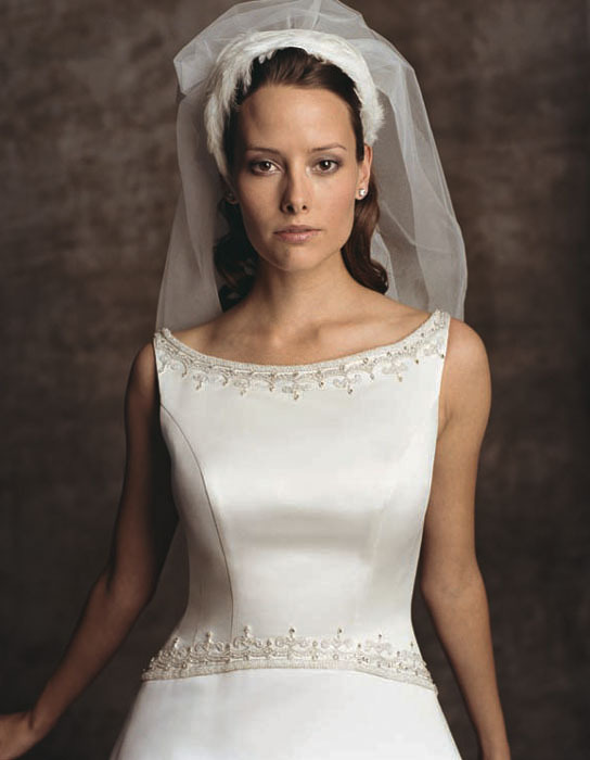 Wedding Dresses, A-line Wedding Dresses, Fashion, dress, Casablanca bridal, A-line, Boatneck