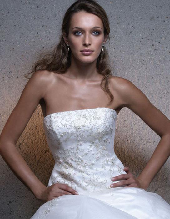 Wedding Dresses, Fashion, dress, Strapless, Casablanca bridal, Strapless Wedding Dresses, Beading, Beaded Wedding Dresses