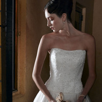 Wedding Dresses, Sweetheart Wedding Dresses, A-line Wedding Dresses, Fashion, dress, Sweetheart, Casablanca bridal, A-line, Beading, Beaded Wedding Dresses