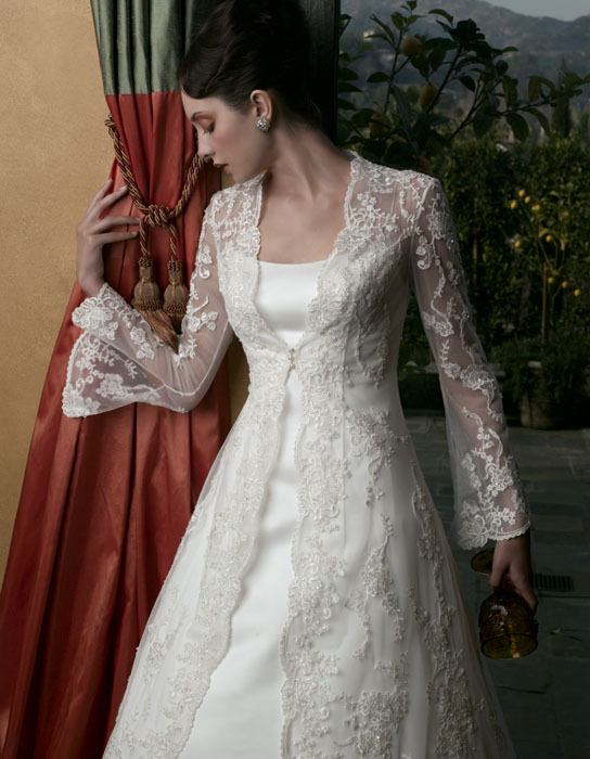 Wedding Dresses, A-line Wedding Dresses, Lace Wedding Dresses, Fashion, dress, Lace, Casablanca bridal, A-line