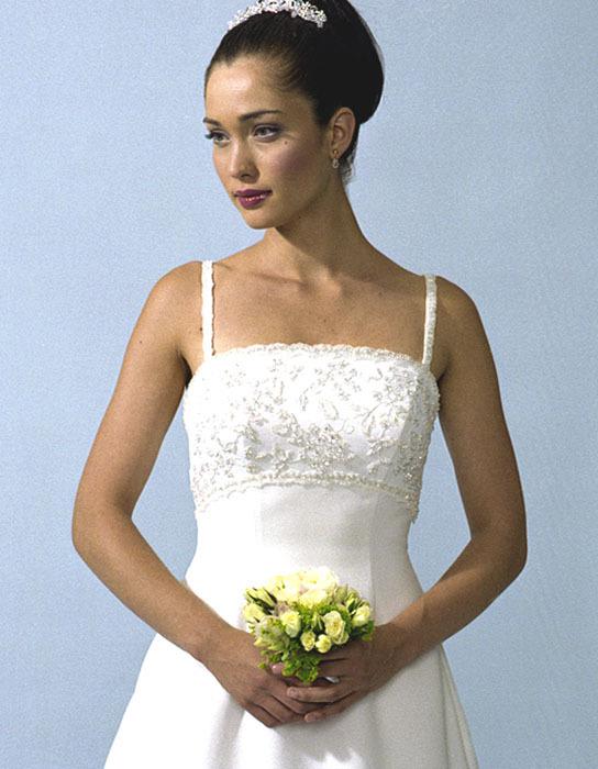 Wedding Dresses, Fashion, dress, Casablanca bridal, Spaghetti straps, Beading, Empire, Beaded Wedding Dresses, Spahetti Strap Wedding Dresses