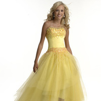 Bridesmaids, Bridesmaids Dresses, Fashion, yellow, Chrissy o fashion and bridal boutique