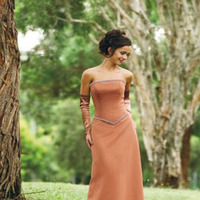 Bridesmaids, Bridesmaids Dresses, Fashion, orange, Chrissy o fashion and bridal boutique
