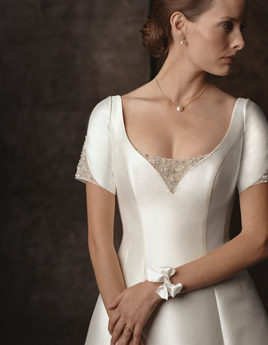 Wedding Dresses, A-line Wedding Dresses, Fashion, dress, Casablanca bridal, A-line, Sleeve