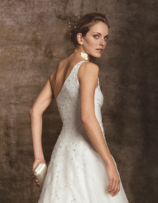 Wedding Dresses, Fashion, dress, Casablanca bridal, Single strap