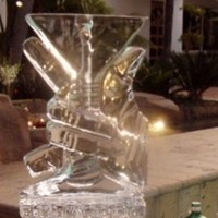 The ultimate affaire, Ice, Martini, Sculpture