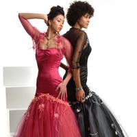 Bridesmaids, Bridesmaids Dresses, Fashion, pink, black, Chrissy o fashion and bridal boutique