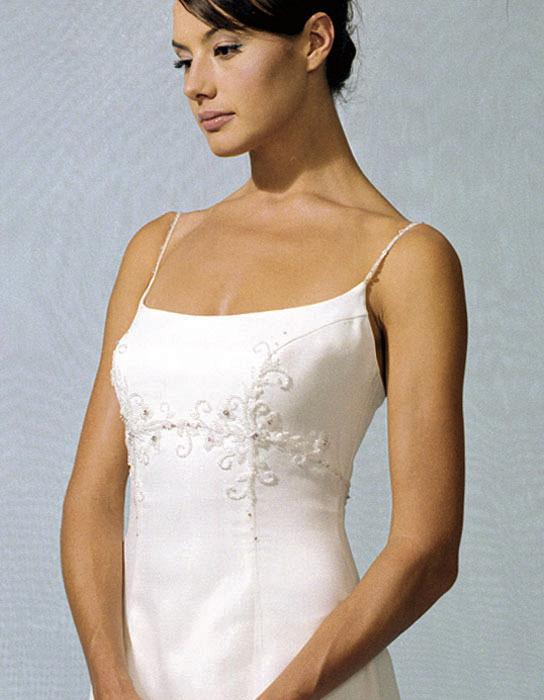 Wedding Dresses, Fashion, dress, Casablanca bridal, Empire, Spaghetti strap