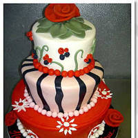 Cakes, red, cake, Mad hatter, Cinderella cakes
