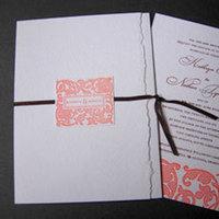 Stationery, pink, Invitations, Papel vivo